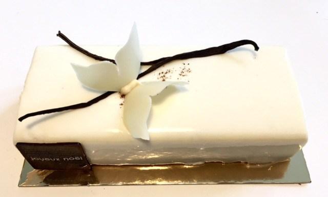 recette buche vanille pour noel