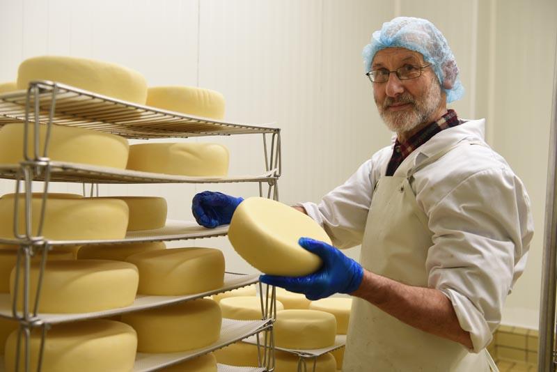 Le Trappe de Timadeuc, un fromage à pâte pressée très apprécié.