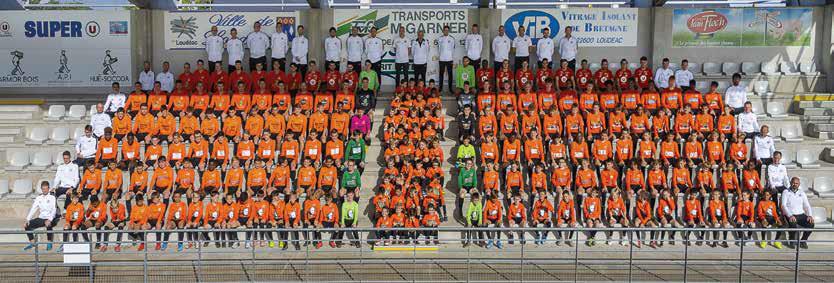 De l'école de foot aux seniors, le club compte plus de 350 licenciés.